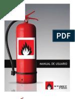 Manual de Usuario Extintores