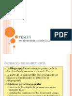 TEMA 5 Corologia