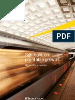 Spotlight on Profitable Growth 2011
