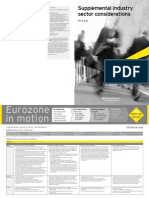 Eurozone in Motion Oil and Gas Supplemental Industry Sector Considerations