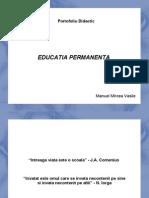 0 Educatia Adultilor Parte Componenta a Educatiei Permanente