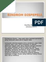 SINDROM DISPEPSIA