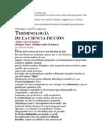 Terminología de la Ciencia Ficción