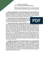 Chung quanh điều 4 - Bài 3 - GÓP Ý SỬA ĐỔI DỰ THẢO HIẾN PHÁP 2013 -  Lê Minh Vũ - Thanh Hóa