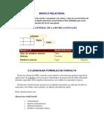 3 Modelo Relacional (Base de datos)