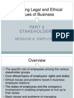Managing Legal and Ethical Issues of Business