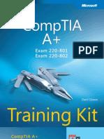 CompTIA Aplus Training Kit Exam 220-801 and Exam 220-802 V413HAV