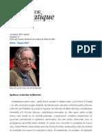 Chomsky_spalarea Creierelor in Democratie