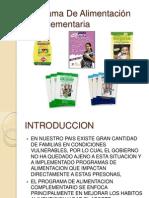 Programa De Alimentación Complementaria 3