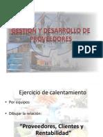 Presentacion Gestion y Desarrollo de Proveedores