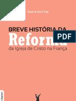 Livro eBook Breve Historia Da Reforma Da Igreja de Cristo Na Franca