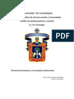 Ensayo sobre la Sociedad estructural funcionalismo.docx