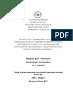 Tesis Descripcion de Las Caracteristicas Clinicas y Epidemiologicas de Los Pacientes Con Podopatia Diabetica[1]