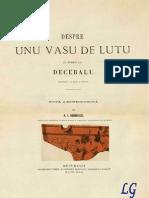 Alexandru Odobescu - Despre Unu Vasu de Lutu