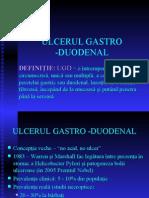 Ulcerul GASTRO-DUODENAL