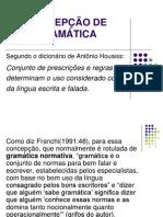 TIPOS DE GRAMÁTICA - A NORMA CULTA