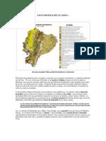 Los Ecosistemas Del Ecuador