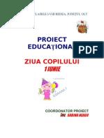 Proiect Educational 1 Iunie
