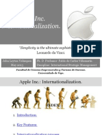 Apple Inc (Internationalization) - John Leyton