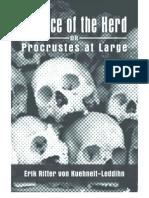 Kuehnelt-Leddihn - The Menace of the Herd