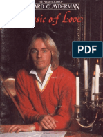Richard Clayderman-Music of Love( Book of Piano Solos)