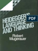 Heidegger's language and Thinking