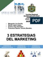 3 Estrategias de Marketing