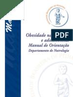 77372087 Obesidade Na Infancia e Adolescencia Manual de Orientacao