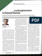 Reglementare Si Dereglementare in Sistemul Financiar_1