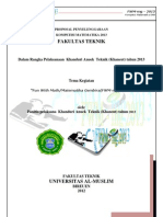 Proposal Kompetisi MTK Khaneut 2013