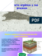 Clase 6 La Materia Organica y Sus Procesos