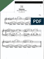 Suzuki Piano School Volume 1-Musette