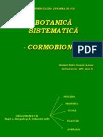 Botanica Sistematica - Cormobionta