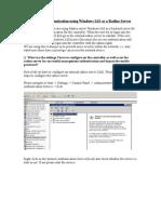 Management+Authentication+Using+Windows+IAS+as+a+Radius+Server