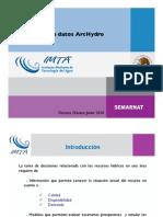 Modelo de Datos Arc Hydro