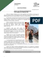 02/06/11 Germán Tenorio Vasconcelos recomienda Sso Prevenir Enfermedades Por Cambios de Temperatura