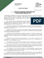 03/06/11 Germán Tenorio Vasconcelos PARTICIPACIÓN CIUDADANA, ARMA EFECTIVA PARA ELIMINAR DENGUE