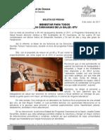8/06/11 Germán Tenorio Vasconcelos bienestar Para Todos Con Caravanas de La Salud, Gtv