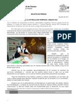 19/06/11 Germán Tenorio Vasconcelos NECESARIA LA ESTIMULACIÓN TEMPRANA, URBANO DOS