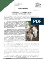 27/05/11 Germán Tenorio Vasconcelos exhorta Sso a La Limpieza en Los Hogares Para Prevenir Chagas