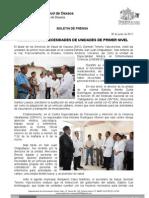 30/05/11 Germán Tenorio Vasconcelos Necesidades de Unidades de Primer Nivel (1)