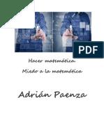 Hacer matemática