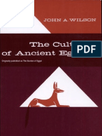 The Culture of Ancient Egypt by John Albert Wilson