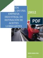 w Gesti�n Ambiental en una Empresa Industrial de Refinaci�n de Aceites Lubricantes.docx