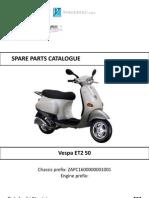 Vespa ET2 Catalog