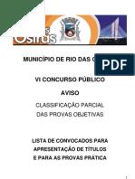 Edital Vi Concurso Publico