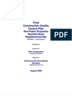Construction Quality Control Plan Final_Rev_0_19Aug2009