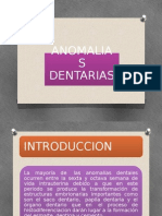 EXPOSICION ANOMALIAS DE LA DENTICION HISTOLOGIA.pptx