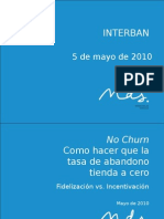 No churn