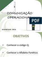 COMUNICAÇÃO OPERACIONAL